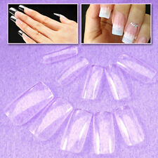 500pcs Full Cover False Fake Acrylic Artificial Nail Art Tips 10 sizes