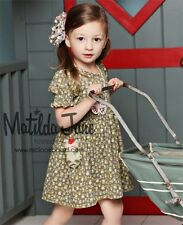 Matilda Jane 18 Months Sugar & Spice Lap Dress Serendipity Pocket Twirl Boutique