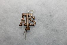 WW2 British Army Womens 'ATS' Auxiliary Territorial Service Corps Insiginia