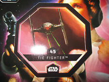 STAR WARS LECLERC CARTE JETON TIE FIGHTER 45/54 COSMIC SHELLS FRENCH EXCLUSIVE