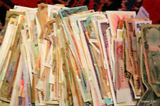 550 or More Mostly Circulated Bank Money Currency From Around the World, USA
