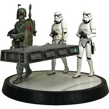 STAR WARS Boba FETT & HAN SOLO in Carbonite STATUE MAQUETTE GENTLE GIANT Jango