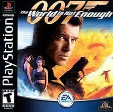007 The World Is Not Enough PS New Playstation