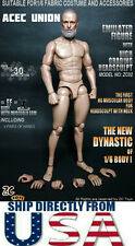 U.S. SELLER 1/6 Muscular Nude Figure With Russell Ira Crowe Head Noah TTM19