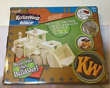 KustomWood Build Your Own BULLDOZER WOODEN KIT tools Included Ages 5+ NEW