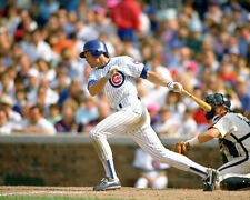 Chicago Cubs RYNE SANDBERG Glossy 8x10 Photo Baseball Ryan Print Poster