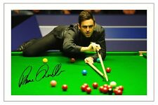 RONNIE O'SULLIVAN SNOOKER WORLD CHAMPION SIGNED AUTOGRAPH PHOTO PRINT