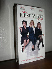 The First Wives Club starring Bette Midler, Goldie Hawn, Diane Keaton(VHS, 1997)