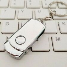 2TB USB 2.0 Flash Drive Metal Swivel High Speed Memory Stick Thumb Pen Gifts