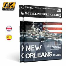 AK Interactive AKI-895 Modelling Full Ahead Volume 2: New Orleans Class
