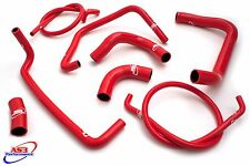 KAWASAKI ZX12R 2000-2006 HIGH PERFORMANCE SILICONE RADIATOR HOSES RED