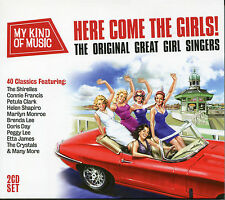 MY KIND OF MUSIC HERE COME THE GIRLS - 2 CD BOX SET - PETULA CLARK & MORE