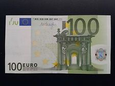 N1 Europe GERMANY 100 Euro 2002, X-serie UNC, DRAGHI Sign, Printer R003H3