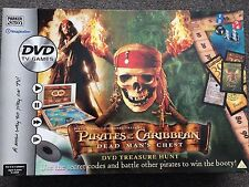 Pirates of the Caribbean dead man's chest game. Dvd treasure hunt game.