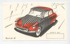 RARE BUVARD BAS BOMO CITROEN DS VOITURE  OLD ADVERTISING BLOTTER