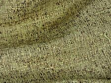 2.75 YDS NUTMEG WHEAT Tweed Two-Tone Home Decor Drapery Upholstery Sewing Fabric