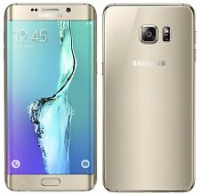 SAMSUNG GALAXY S6 EDGE PLUS + SM-G928F 64GB GOLD FACTORY UNLOCKED 4G PHONE ONLY