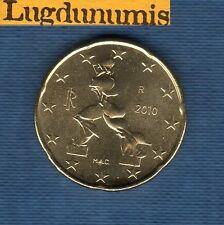 Italie 2010 - 20 centimes d'Euro - Pièce neuve de rouleau - Italia