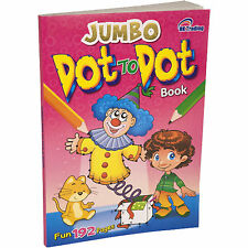 DOT TO DOT PUZZLE BOOK 192 PAGES BIG A4 CHILDREN SCHOOL CHILD KIDS COLOURING