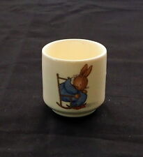 ROYAL DOULTON BUNNYKINS NURSERY WARE EGG CUP ENGLISH BONE CHINA ROCKING CHAIR