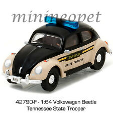GREENLIGHT 42790 F CLASSIC VW VOLKSWAGEN BEETLE TENNESSEE STATE TROOPER 1/64