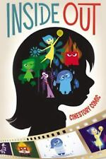 Disney's Inside Out Cinestory by Michael Arndt and Pete Docter (2015, Paperback)