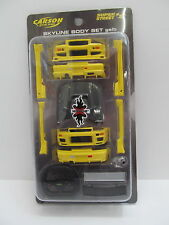MES-48849 Carson 59713 1:24 Skyline Body Set gelb sehr guter Zustand,