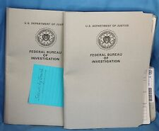 Hannibal COQUILLES FBI Files TV Prop Season 1 episode 5