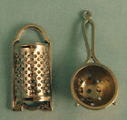 Dolls House Miniature 1/12th Scale Sieve and Grater Kitchen Set
