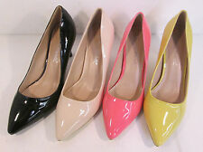 Anne Michelle F9758 Ladies Patent Court Shoes UK Sizes 3 to 8 (R17A)