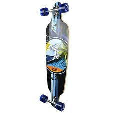 Yocaher Complete Wave Drop Through Longboard