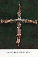 Alte Kunstpostkarte - Christ roman (chapelle St-Michel-d'Auguilhe)