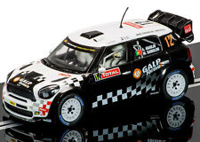 Scalextric Mini Countryman WRC Rallye Monte Carlo 2012 Slot Car 1/32 C3385
