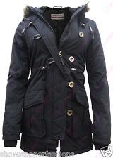 NEW PARKA GIRLS JACKET COAT HOODED Girls Padded CLOTHING AGE 7 8 9 10 11 12 13
