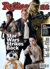 NEW Rolling Stone Magazine Star Wars Strikes Back 2015 USA Edition No Label