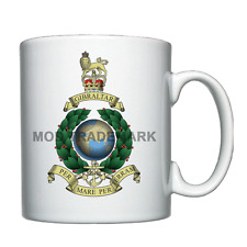 Globe and Laurel crest, Royal Marines Commando - Personalised Mug / Cup