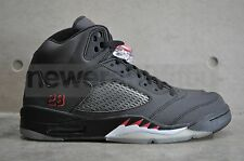 Nike Air Jordan 5 Retro - Black/Varsity Red 3M Bulls Pack