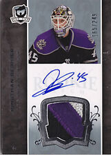07-08 The Cup Jonathan Bernier Auto Jersey Patch Rookie Card RC #128 165/249
