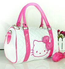 hello kitty adorable white hot pink purse handbag woman women barbie princess