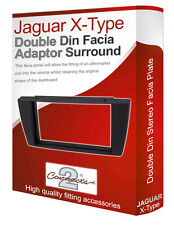 Jaguar X Type stereo radio Facia Fascia adapter panel plate trim CD surround