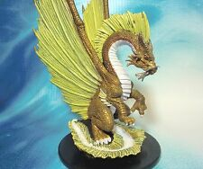 Dungeons & Dragons Miniature  Huge Gold Dragon Giants of Legend !!  s100b