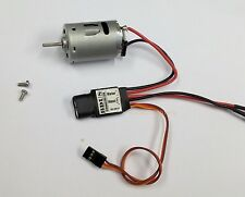 k058wE- 1x high speed 380 Brushed Motor with 35A ESC for home made RC Airplane