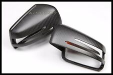 Replacement Matte Carbon Mirror Cover For Mercedes Benz W204 C-Class C250 C300