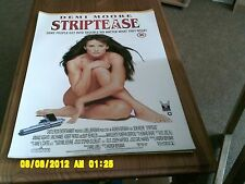 Striptease (demi moore) Movie Poster A2