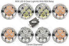 8 Rdx Tutti Trasparente LED Standard Misura Luce/Lampade & Relé Solo Defender