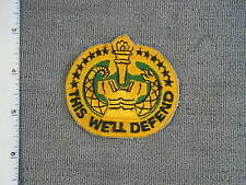 1964 Drill Instructor TIOH sample patch, by Best Emblem & use in B. Stein's book