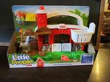 Fisher-Price Little People Hay Stackin' Stable barn horse Sofie New ranch farm
