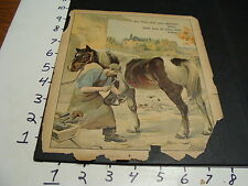 early German animal book, picture page----HORSE