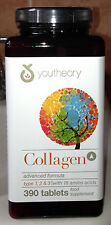 YOUTHEORY 100% NATURAL COLLAGEN 390 Tablets Per Bottle