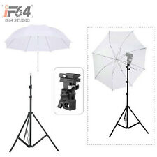 "Flash Photograph​y Umbrella Kit 195cm Light Stand + Bracket B + 33"" Umbrella"